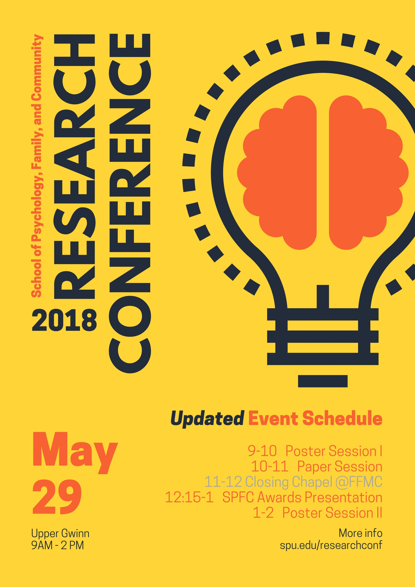 May 29 2018 - SPFC Research Conference at SPU