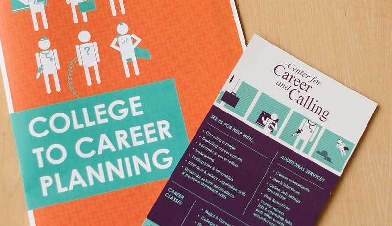 Center for Career and Calling brochures
