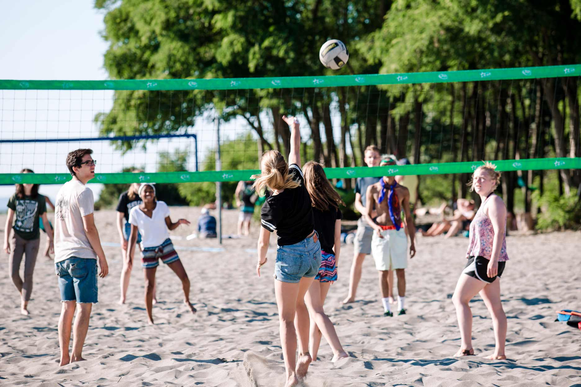 Immerse Volleyball