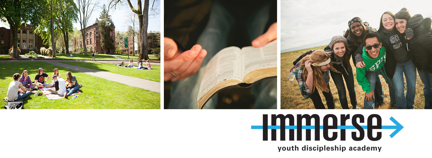 Immerse Youth Discipleship Academy
