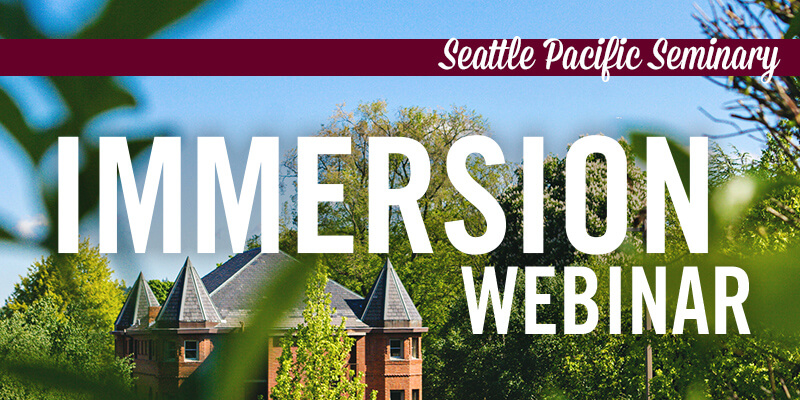 Immersion Webinar 2020