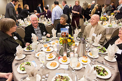 Guests dine at the 2013 SPU President's Circle Dinner