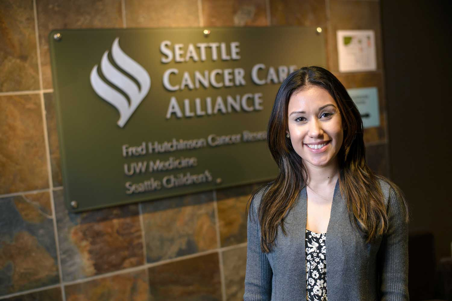 Yisel Navarro was an office worker for the Seattle Cancer Care Alliance