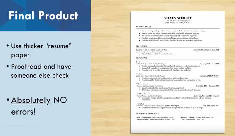 NEW Webinar On How To Create A Résumé: Part 3