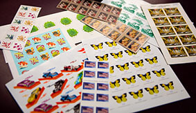 A plethora of stamps