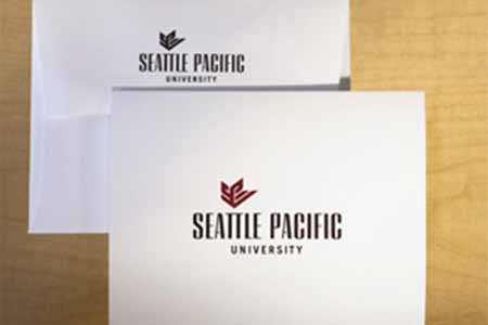 Seattle Pacific University note cards