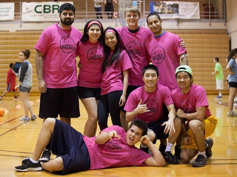 Intramurals dodge ball