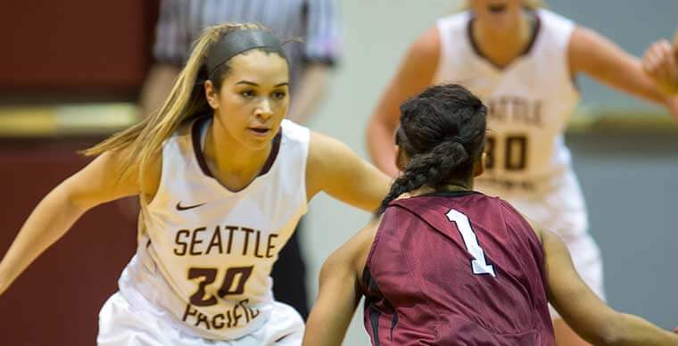 SPU Women's Basketball Homecoming game