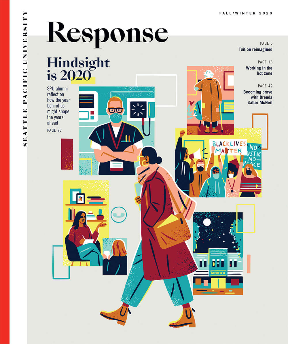 Response magazine Winter 2020 issue cover