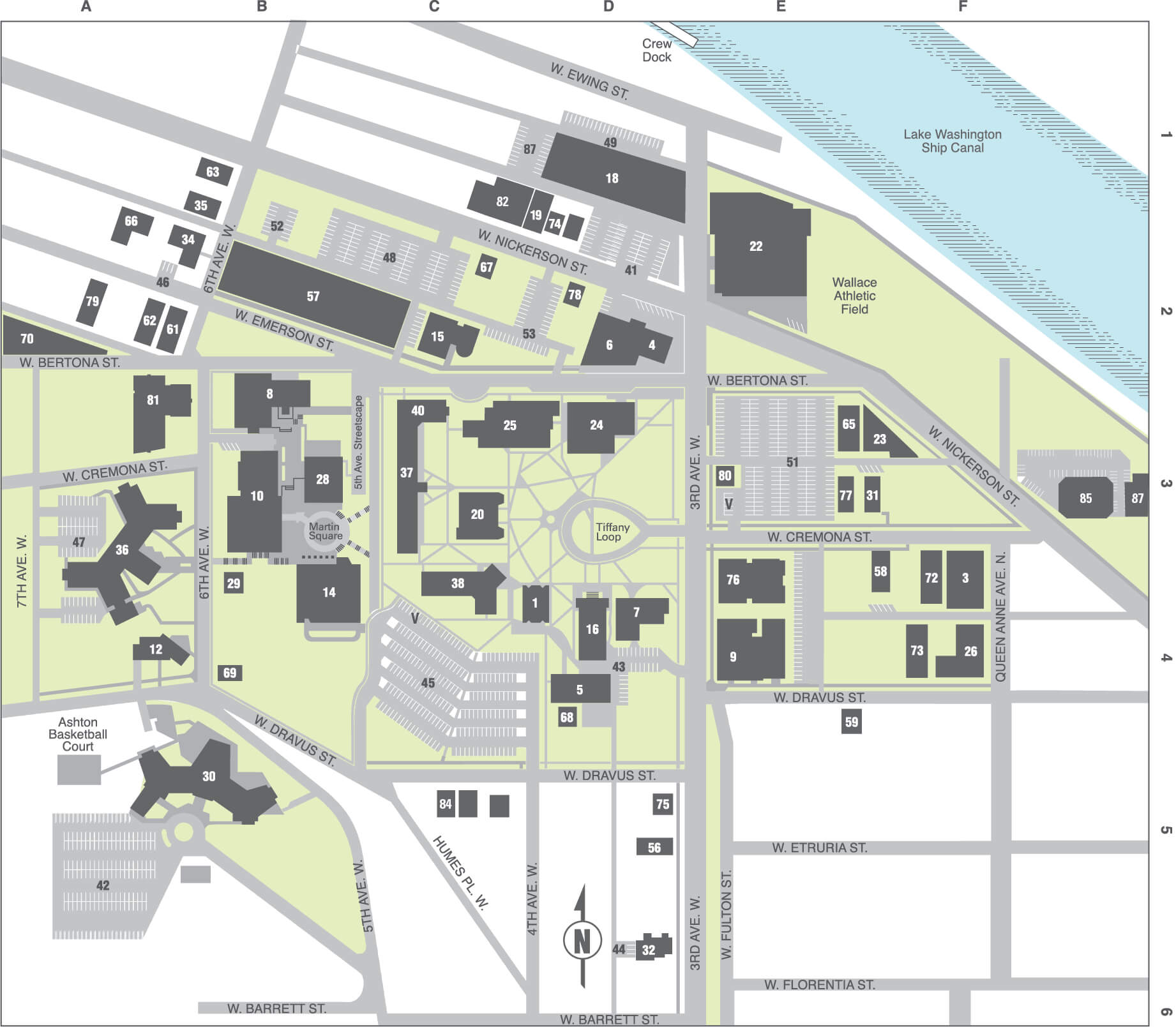 Campus Map - Seattle Pacific University