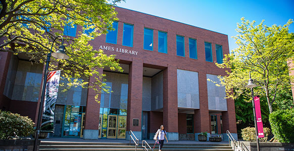 Seattle Pacific University's Ames Library